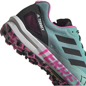 adidas TERREX Speed Pro Trail Running Shoes Women acid mint/core black/screaming pink